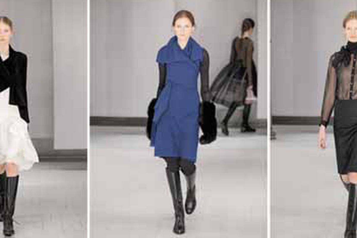 """Images from the fall '09 collection via <a href=""""http://www.morganelefay.com/#"""">Morgane Le Fay</a>"""