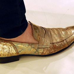 Johnny Weir's shoes.