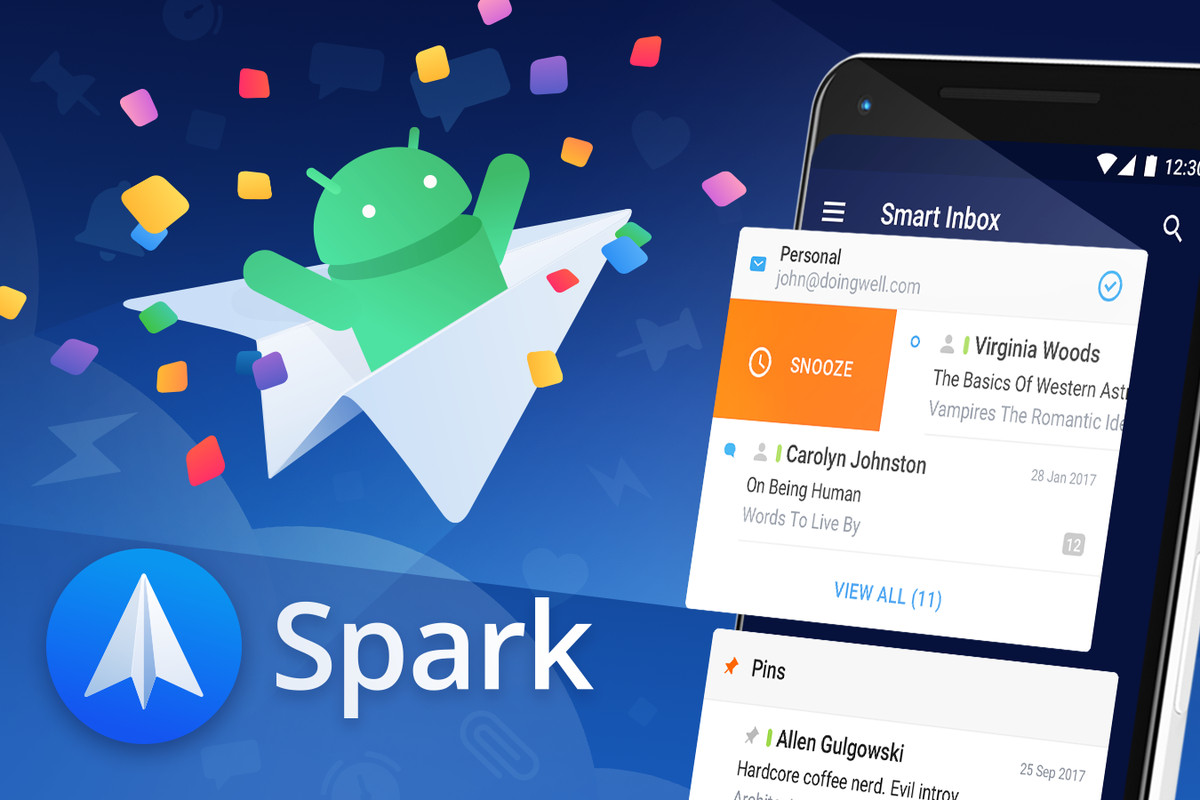 Spark for Android is here to fill the Google Inbox-shaped