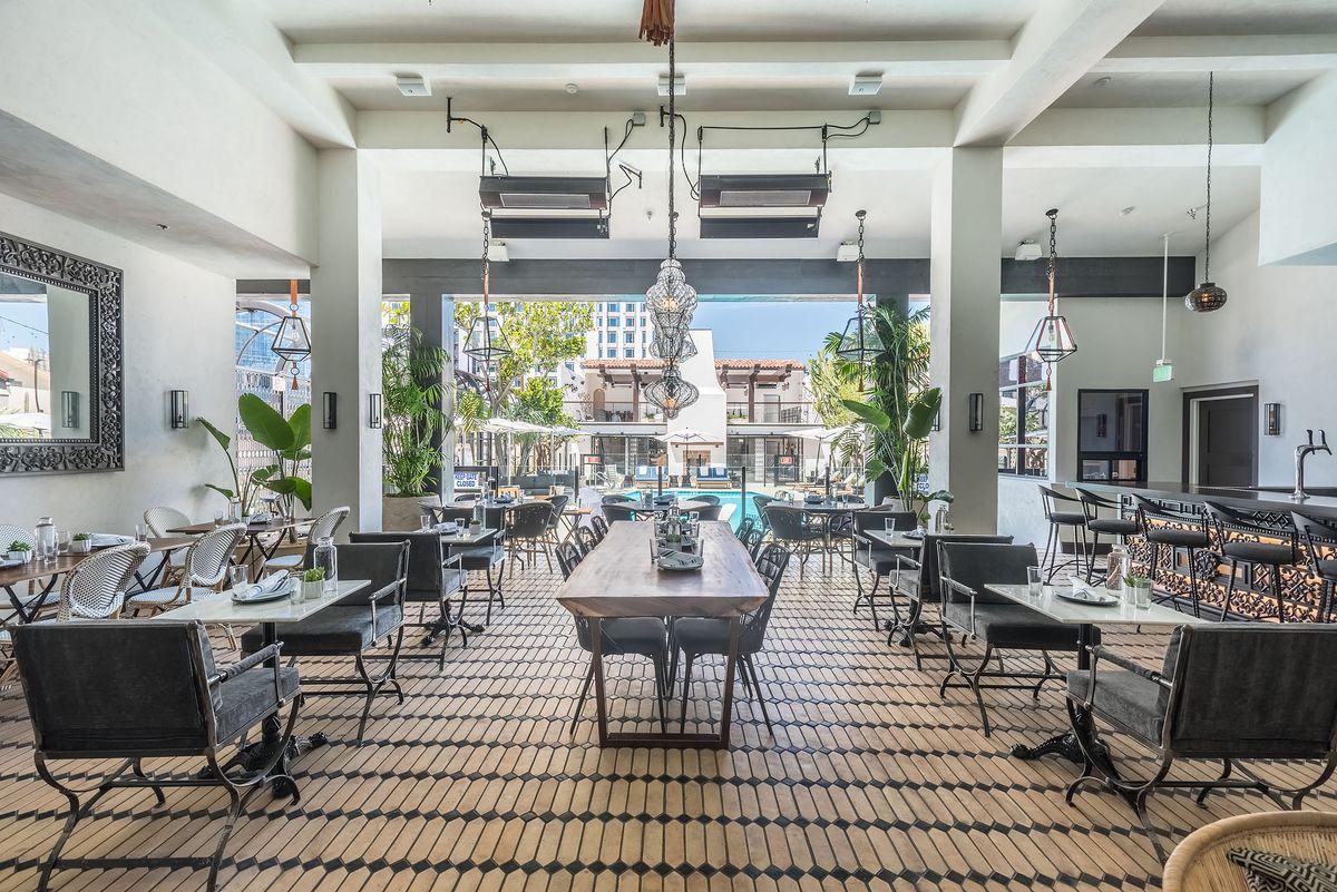 The Veranda at the Hotel Figueroa