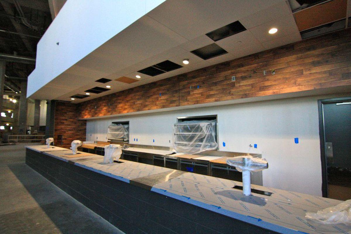 Atlanta falcons mercedes benz stadium will be chock full for Inside mercedes benz stadium