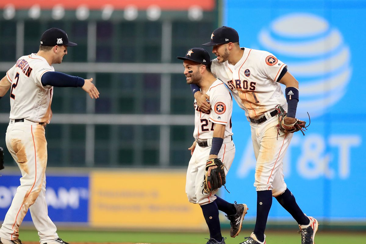 brand new ca4a8 7b3c3 League Championship Series - New York Yankees v Houston Astros - Game Six