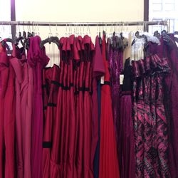 Assorted gowns