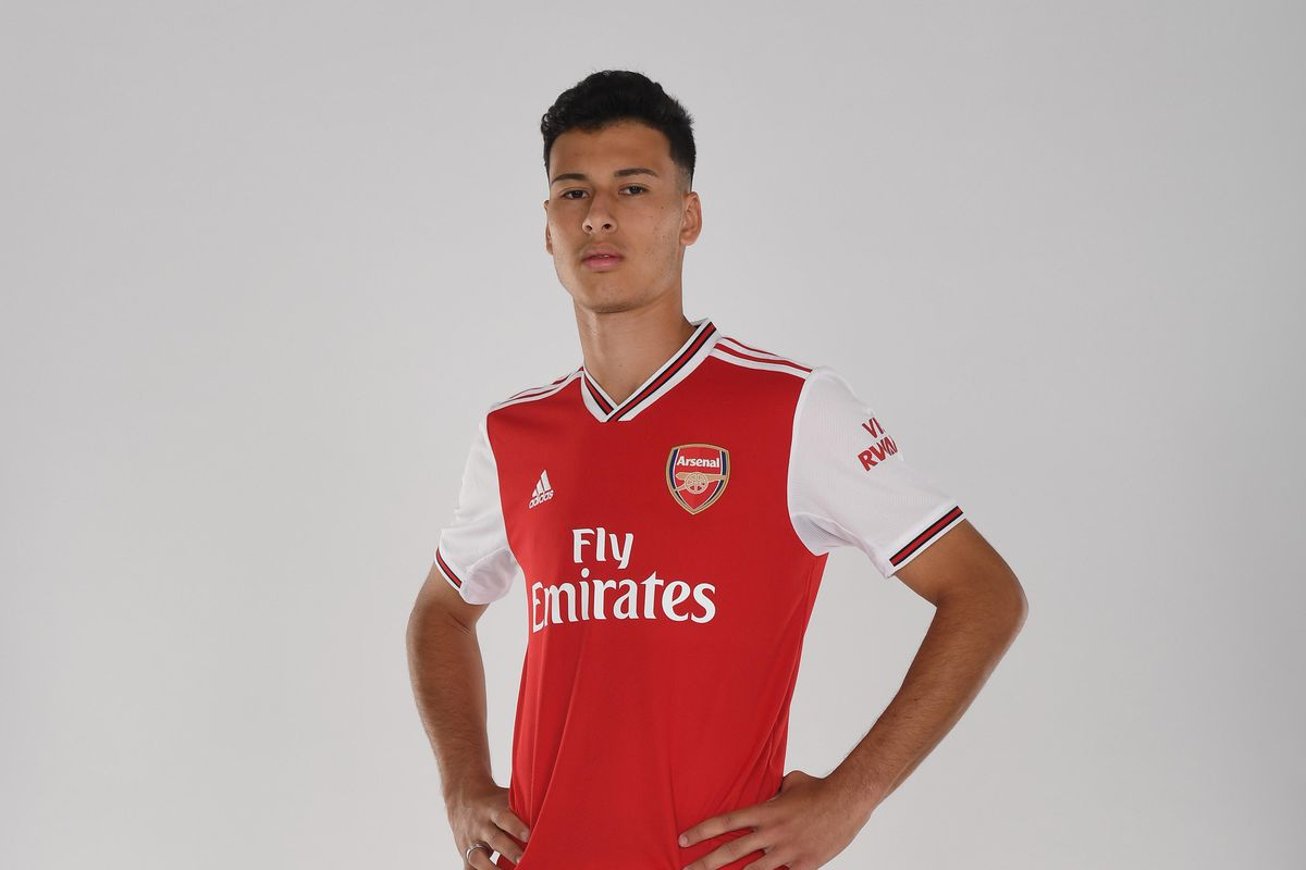 Arsenal Unveil New Signing Gabriel Martinelli