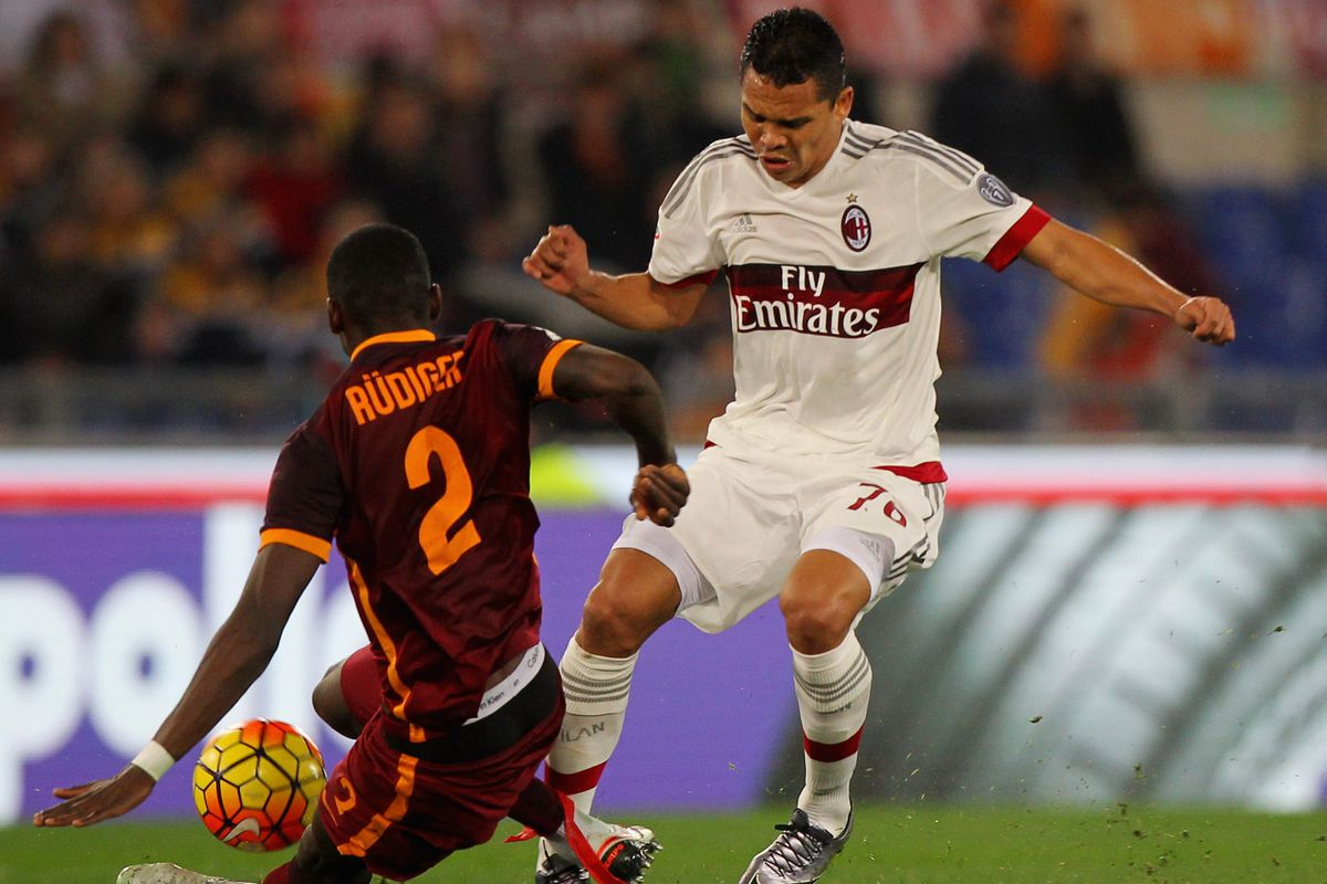 Milan will be looking to Carlos Bacca to make the difference against Carpi