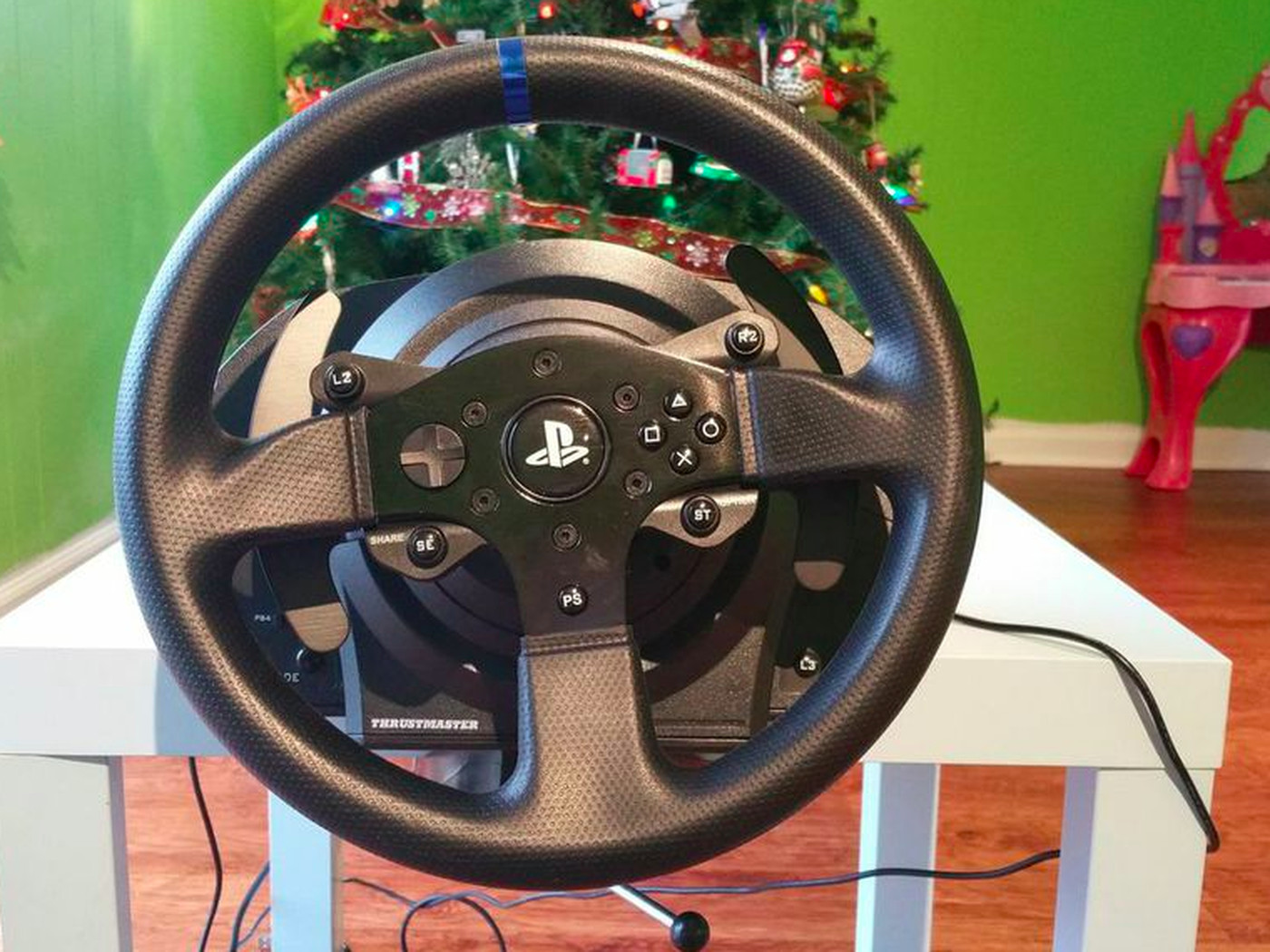 DriveClub is a better game with this $400 wheel, a $10 Ikea