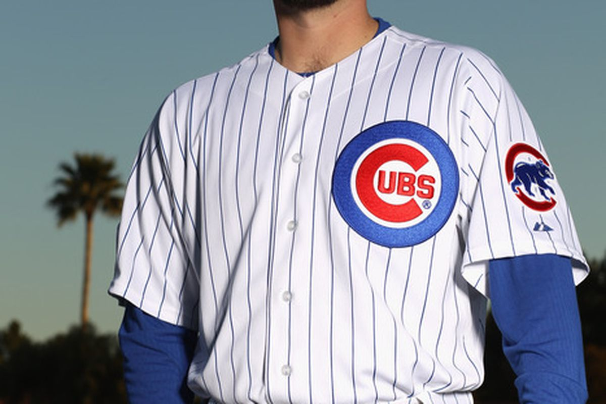 Randy Wells of the Chicago Cubs poses for a portrait during media photo day at Fitch Park on February 22 2011 in Mesa Arizona.  (Photo by Ezra Shaw/Getty Images)