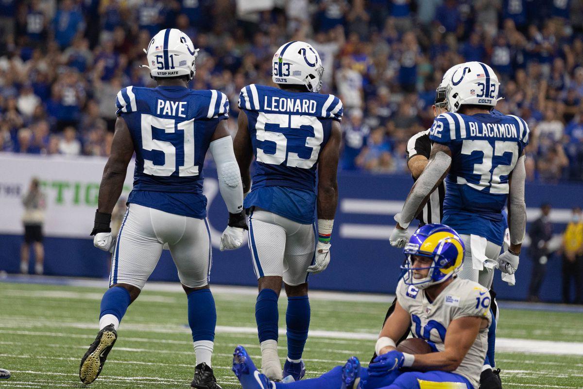 NFL: Los Angeles Rams at Indianapolis Colts