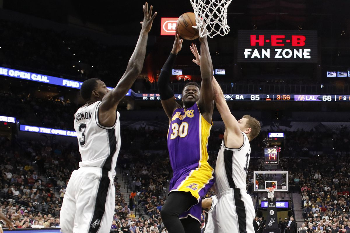 lakers vs. spurs: start time, tv schedule and game preview - silver