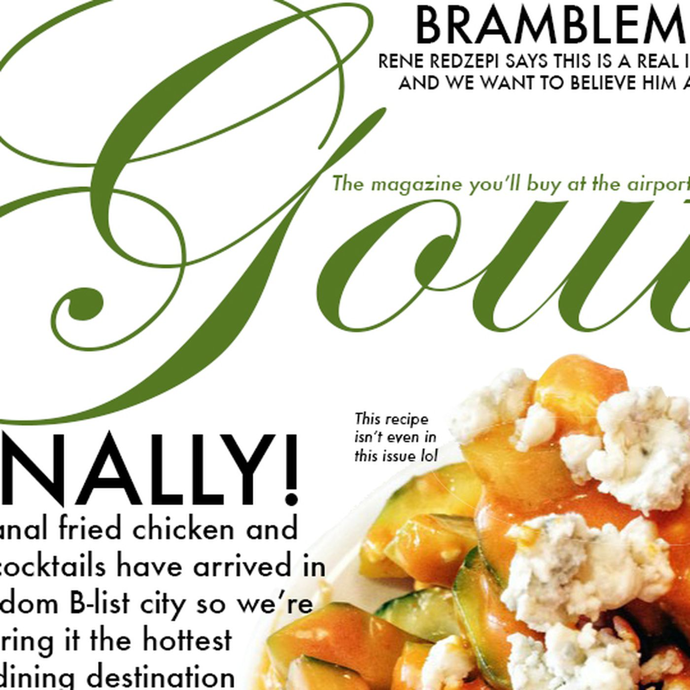 Heres Your New Favorite Food Magazine Gout Eater