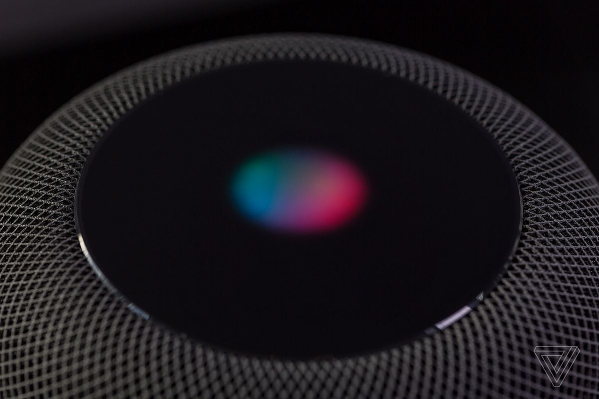 top of the homepod