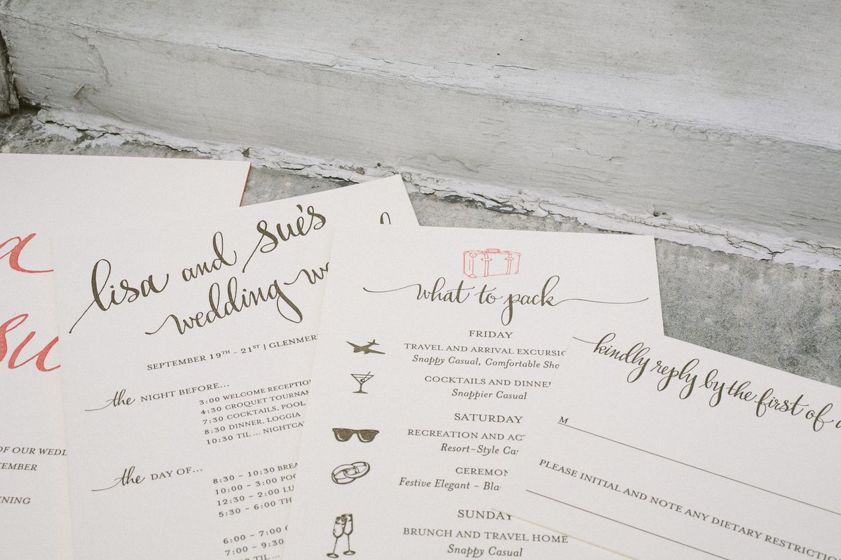 Six New York City Stationers for Actually Cool Wedding Invitations ...