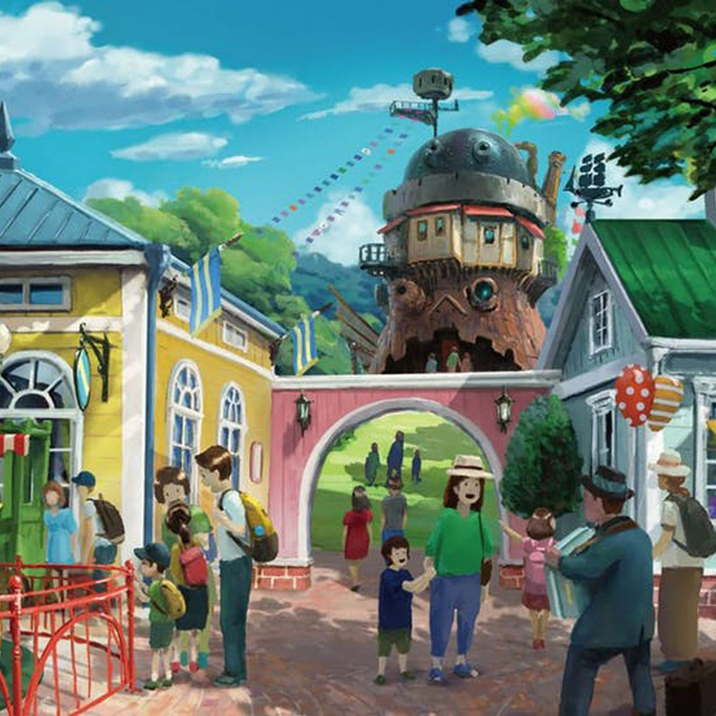 Studio Ghibli Amusement Park Plans Revealed Curbed
