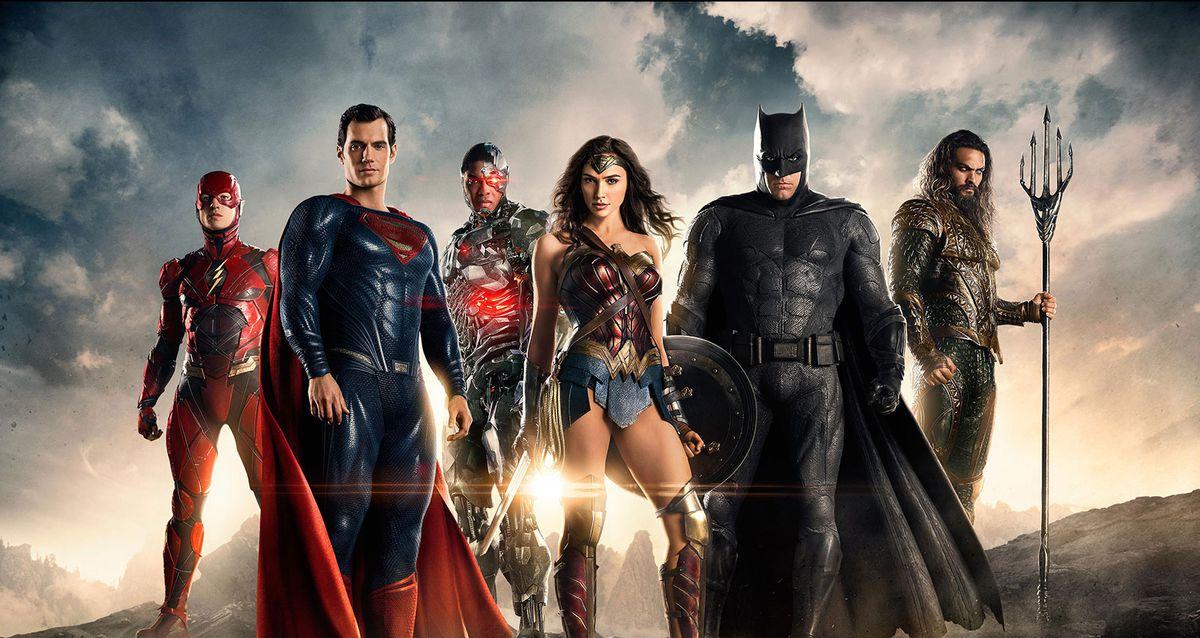 Justice League group shot.
