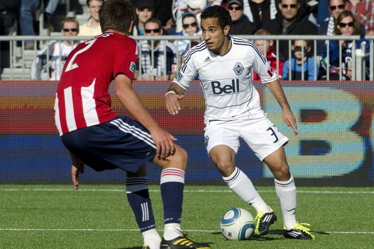 Vancouver Whitecaps striker Camilo Sanvezzo is having a career year in 2013 as Major League Soccer's top goal scorer.