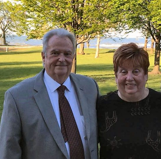James and Janice Quigleyat a wedding at the South Shore Country Club last year.