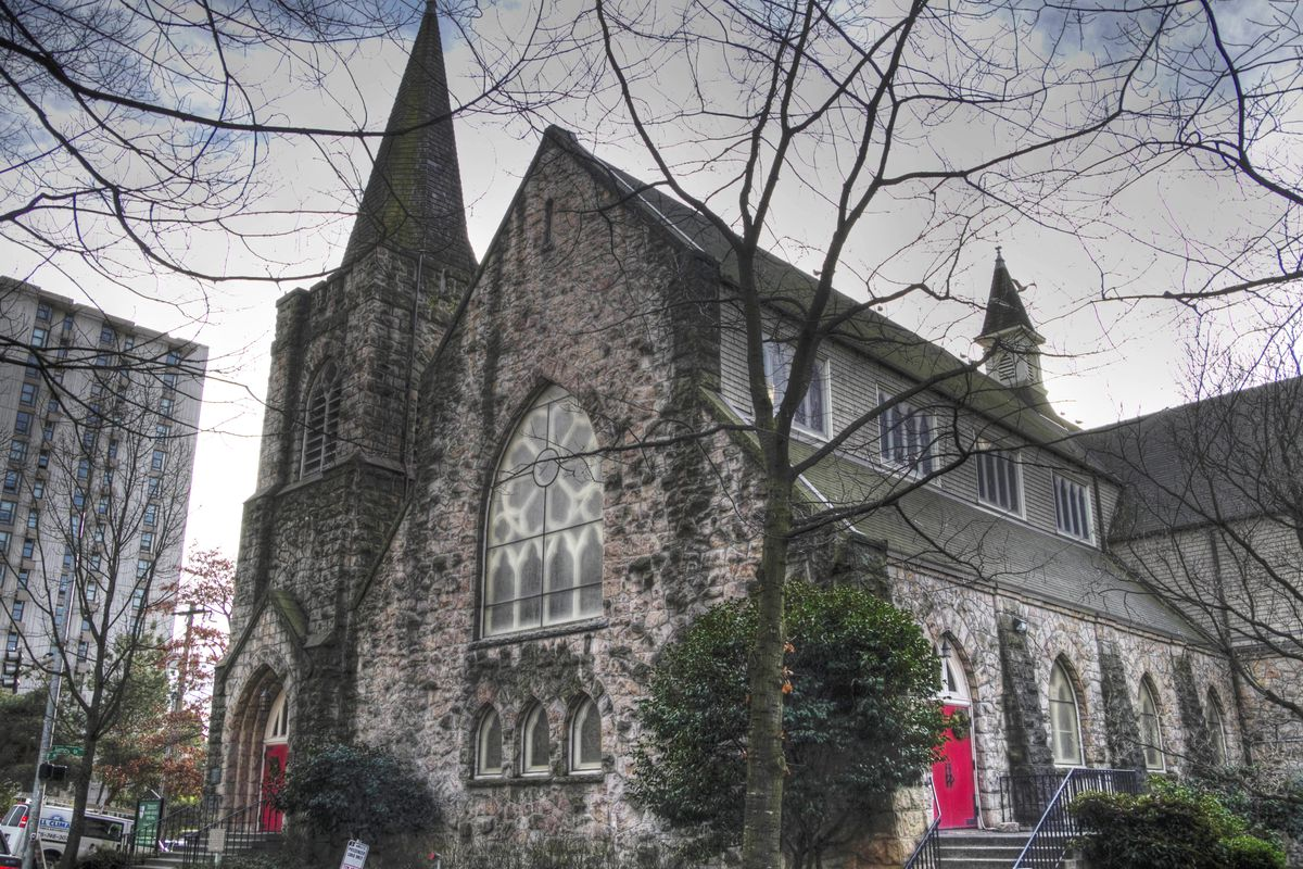 10000 sq ft church plans. Trinity Parish s 1892 church  which is sticking around Ronald Woan Flickr plans 30 story condo tower in First Hill Curbed Seattle
