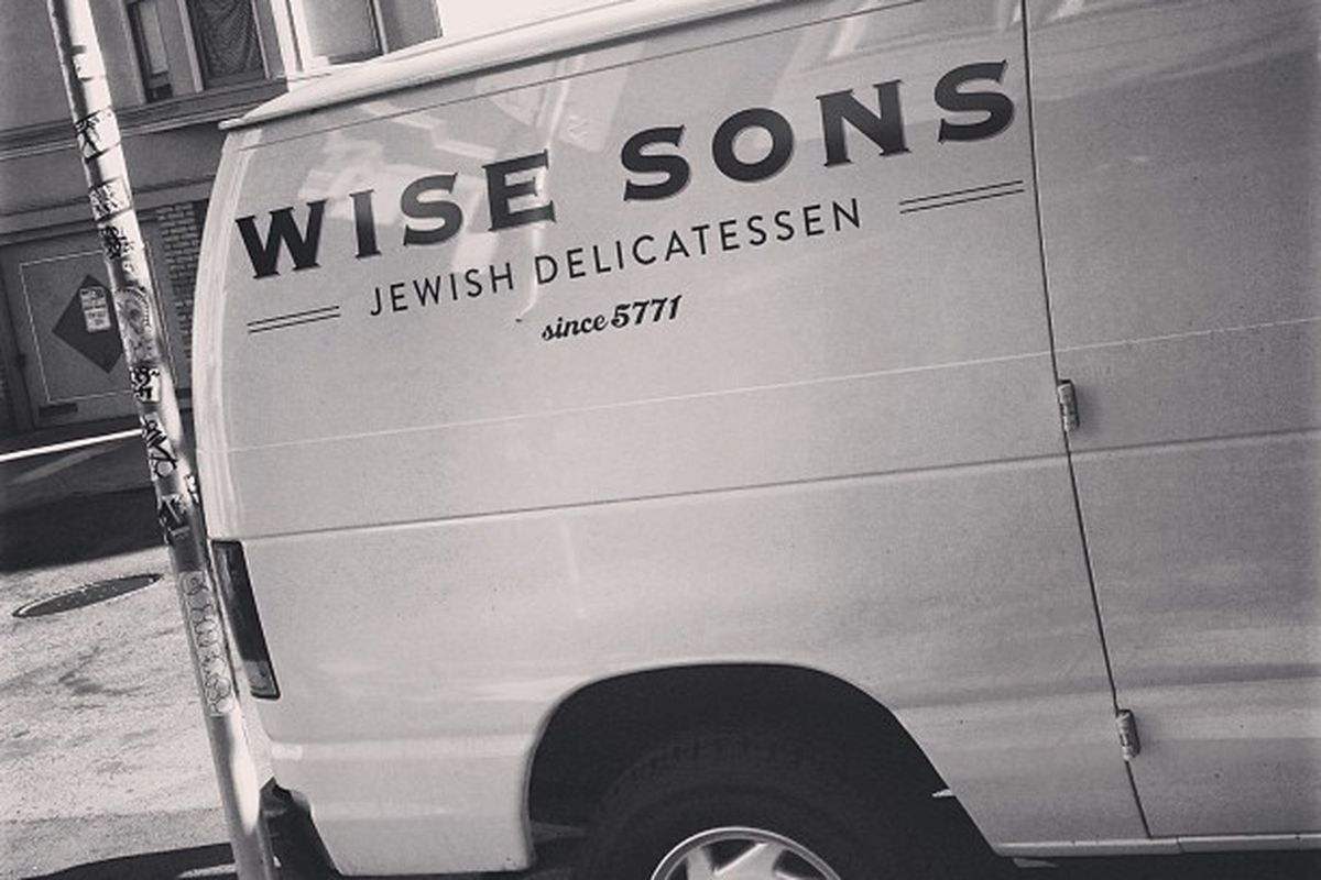 Wise Son's van