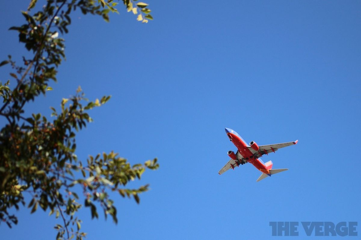 airplane southwest airlines stock 1024