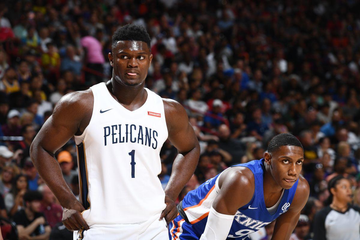 bf27a4d6 2019 Las Vegas Summer League - Day 1 - New York Knicks v New Orleans  Pelicans