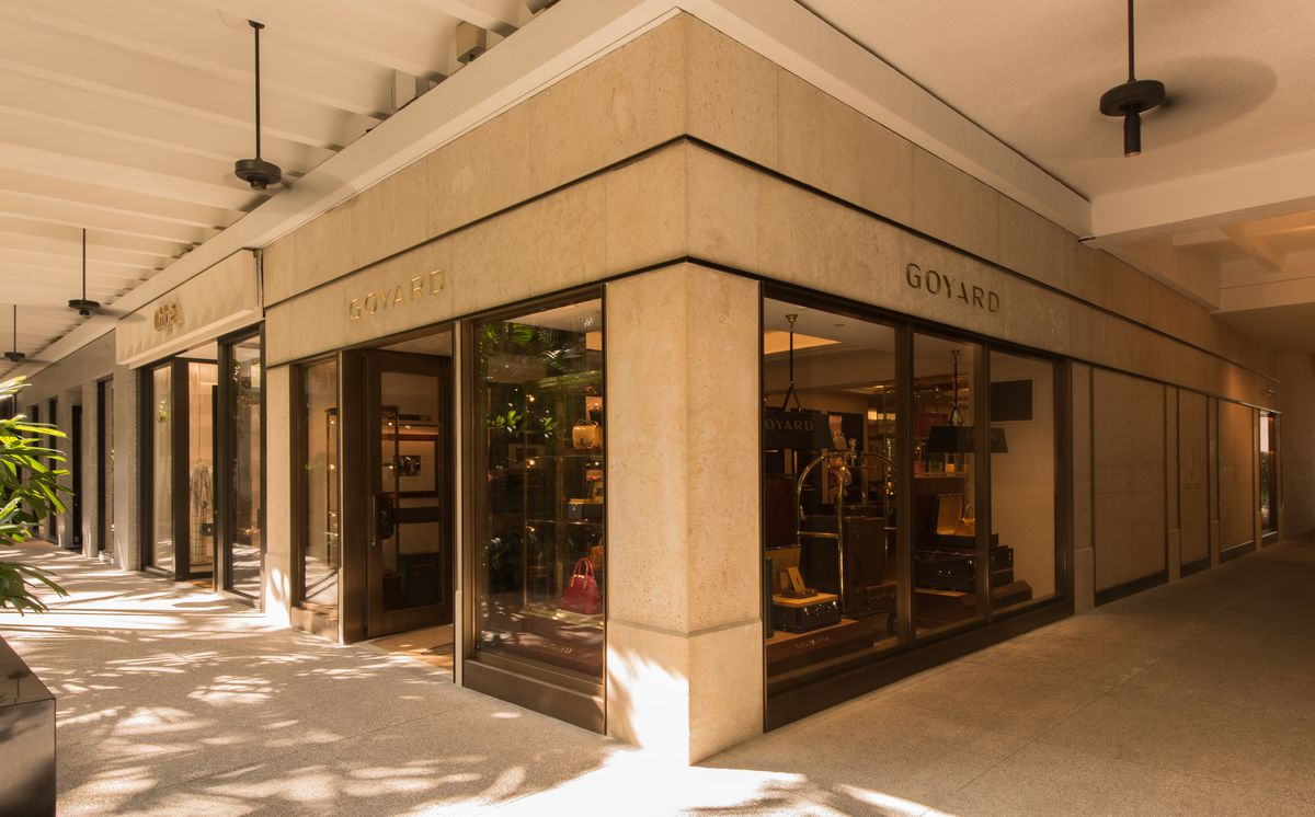 1ccacd69e06 Fashion's most mysterious luxury brand has finally revealed itself at Bal  Harbour Shops. The store looks something out of the past with its antique  logo and ...