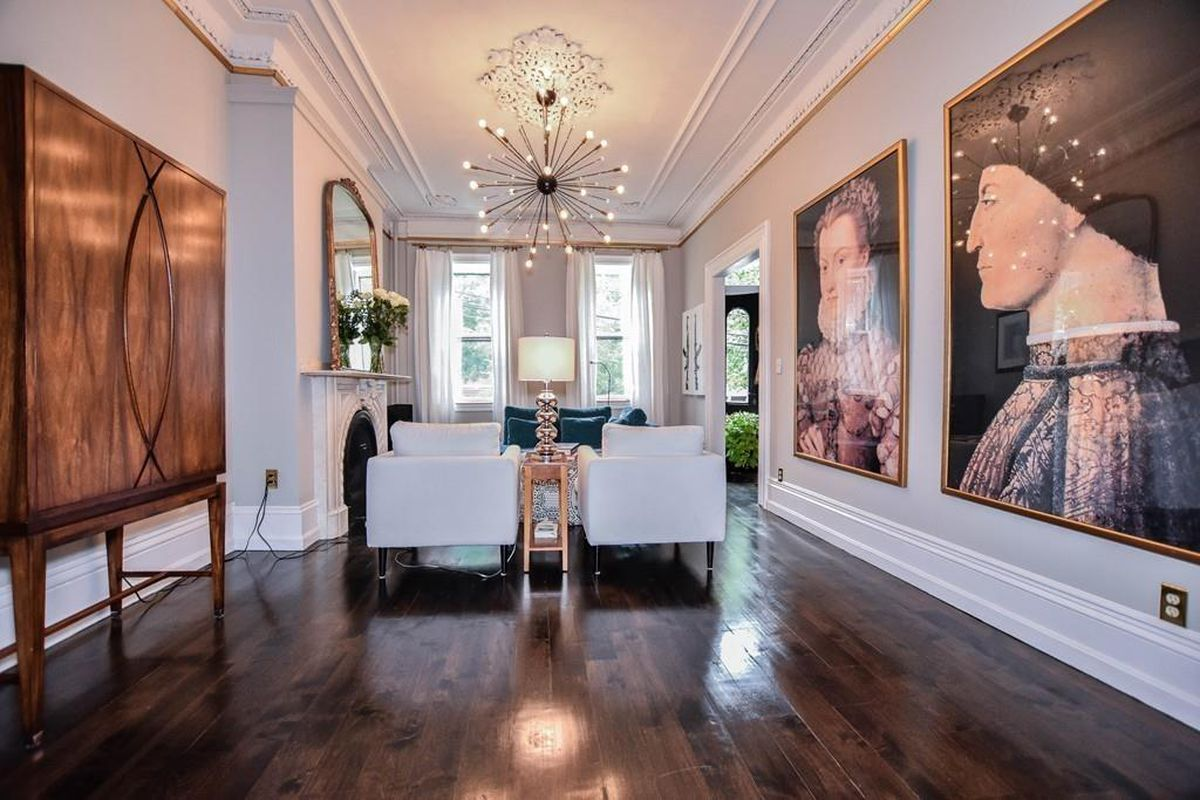 East Cambridge rowhouse asking $1.83M comes with high ceilings ...