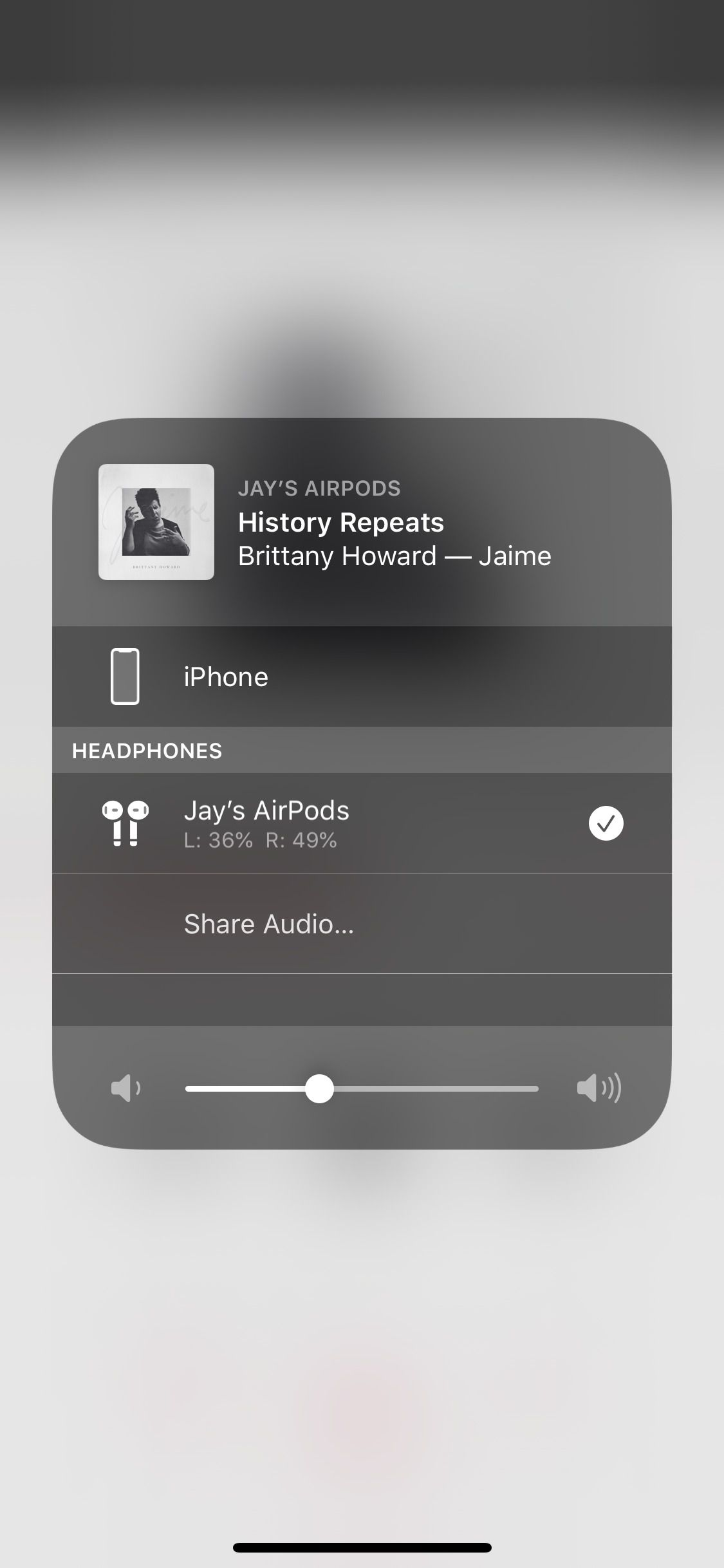 How To Share Your Audio In Ios 13 The Verge