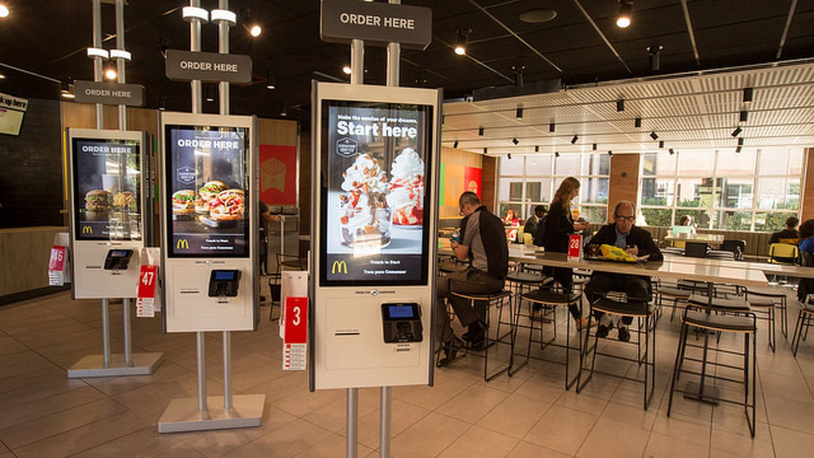 The Mcdonald S Of The Future Has Table Service And Touch