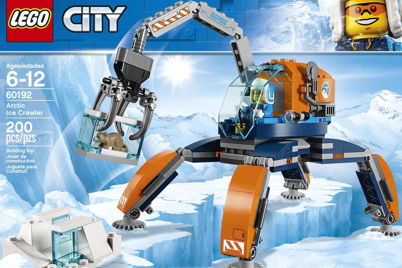 digging mammoths in the arctic isn t as pretty and sci fi as this new lego set suggests