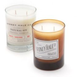"""Hitting all of the notes of the heritage movement, these small-batch, hand-poured, USA-made <a href=""""http://trovegeneral.com/soy-candle/dp/9821"""">Soy Candles</a> from the family-owned Sydney Hale Co. will cost you $28 at Trove General Store."""