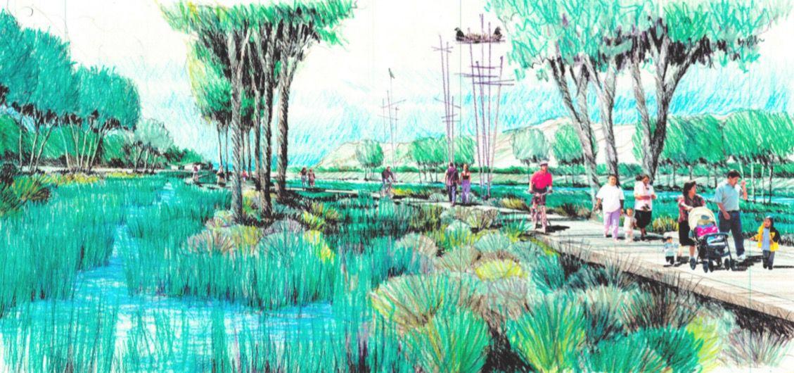 Sketch of Taylor Yard concept
