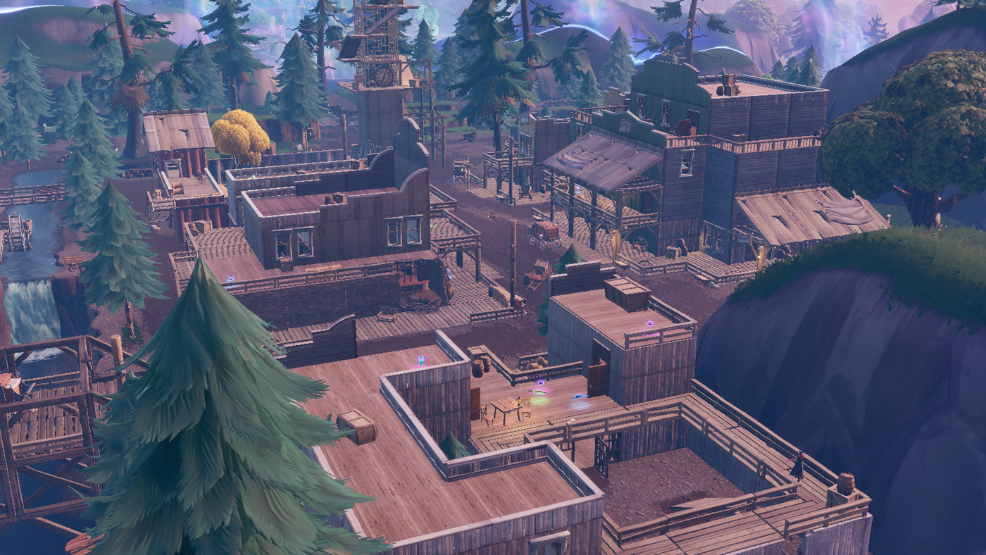 Camera In Tilted Towers Fortnite Fortnite S Latest Patch Sends Tilted Towers Back To The Old West Polygon