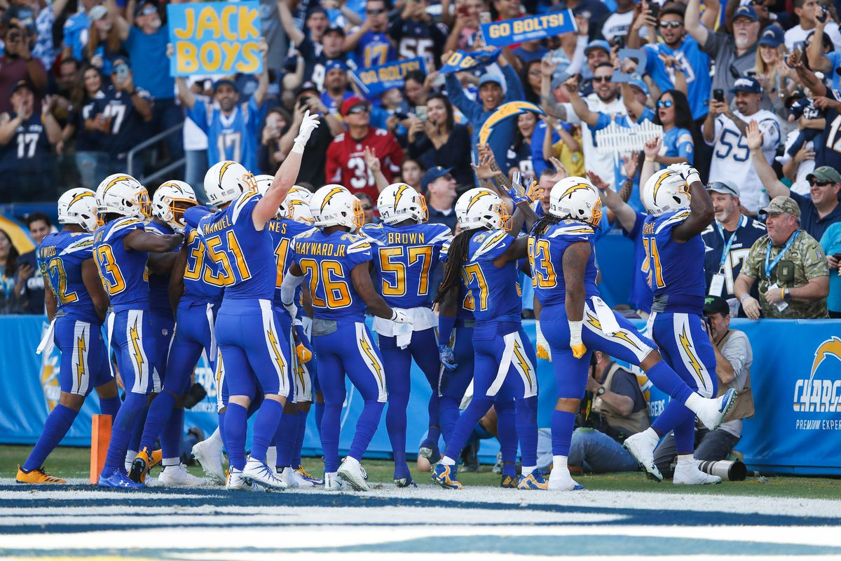 55af682c3 Chargers-Cardinals final score  Los Angeles Chargers defeat the Arizona  Cardinals 45-10