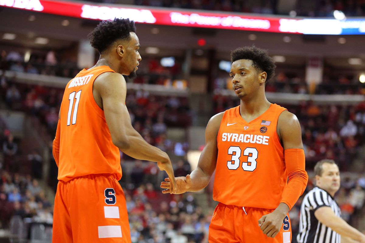 Very Early 2019 20 Syracuse Basketball Depth Chart Season