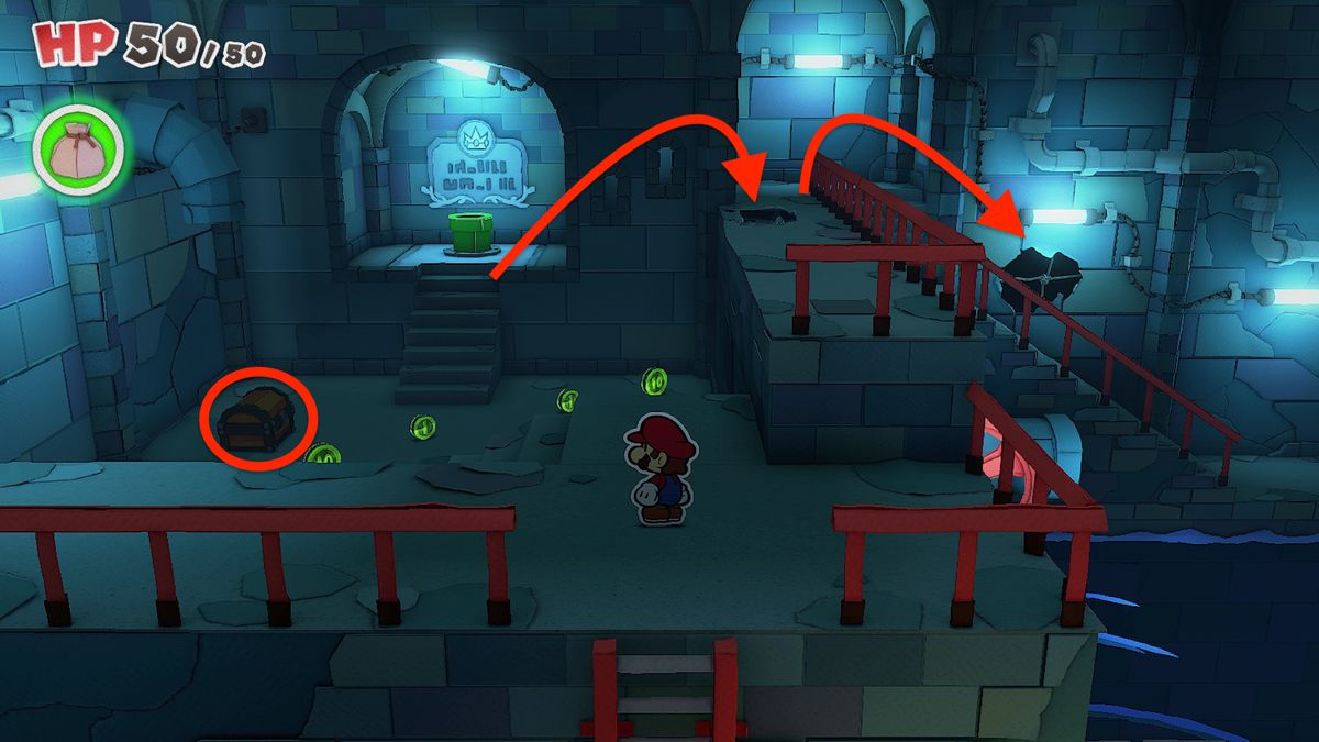 Paper Mario: The Origami King guide: Graffiti Underground collectibles locations