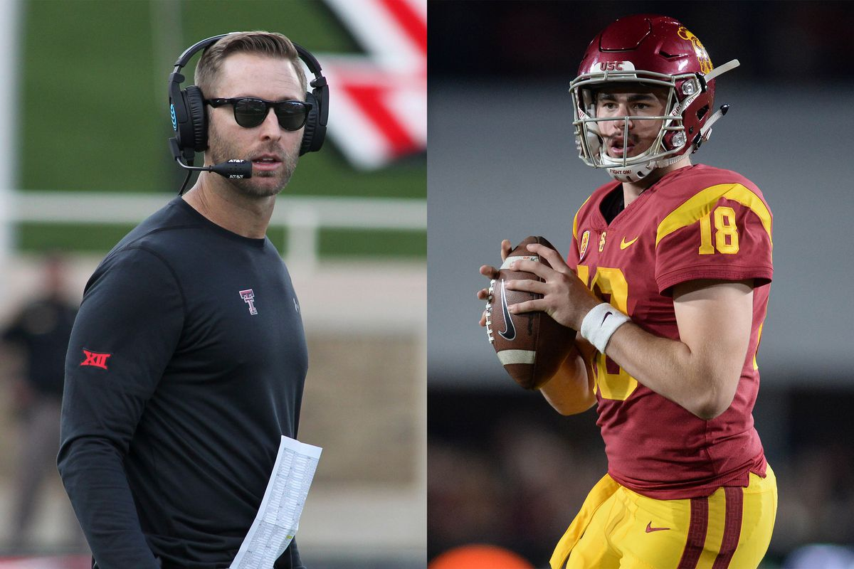 58fd69b475 How Kliff Kingsbury s arrival at USC changes the Trojans  whole equation.  New ...