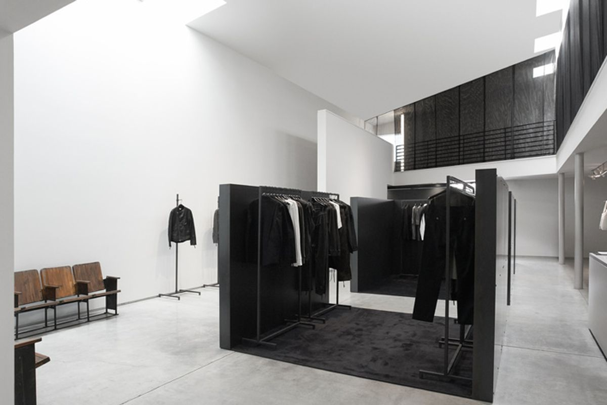 """The brand's new LA flagship takes over its former <a href=""""http://la.racked.com/2014/4/14/7606281/helmut-langs-installation-shop-pops-up-on-melrose-in-weho"""">pop-up space</a>."""