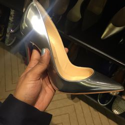 Christian Louboutin heels, $347.50