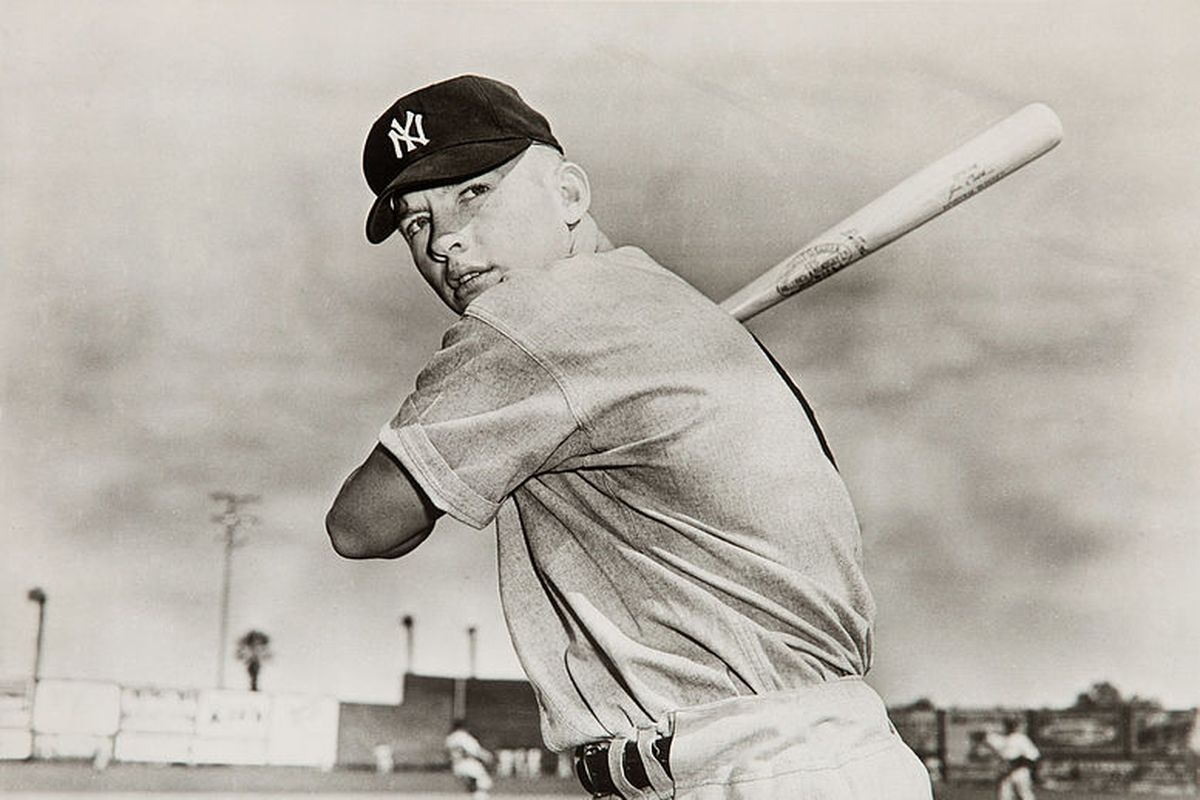The Story Behind The Yankees Leaving Mickey Mantle