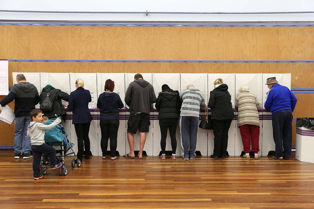 Australians Head To The Polls To Vote In 2016 Federal Election