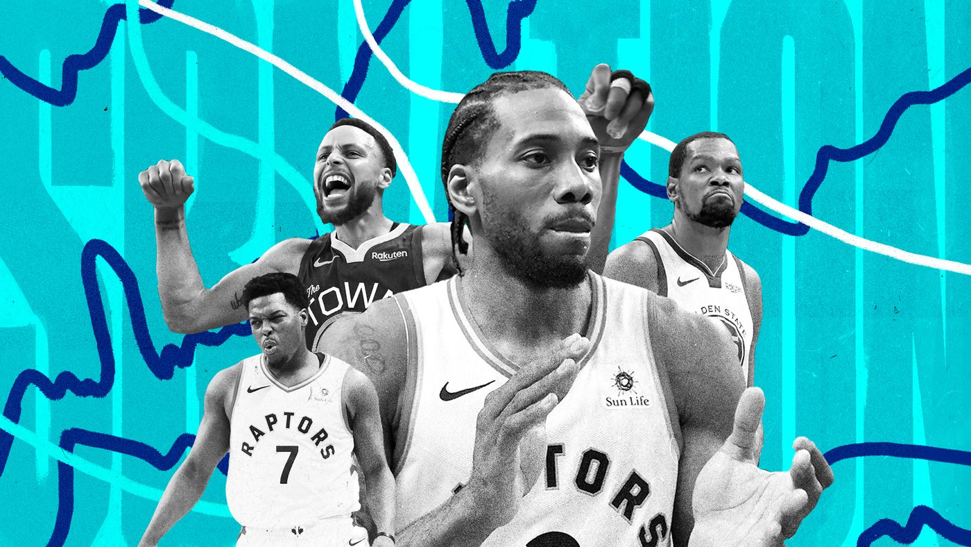 8673dc9984404 NBA Finals 2019  The 30 players on the Warriors and Raptors
