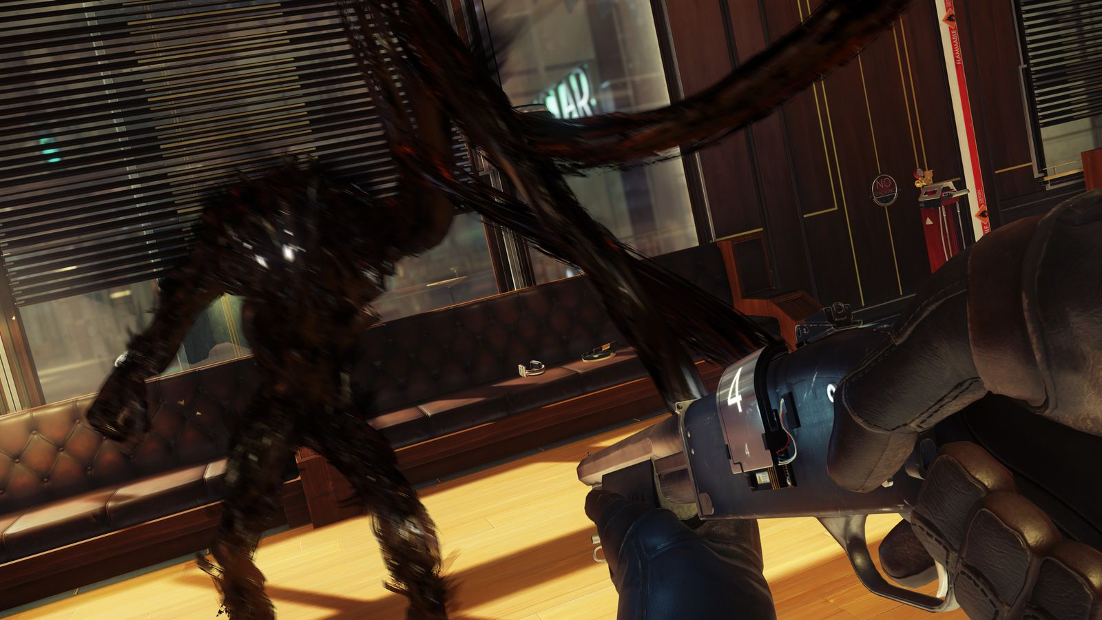 prey is a complex  tense  and scattered piece of survival