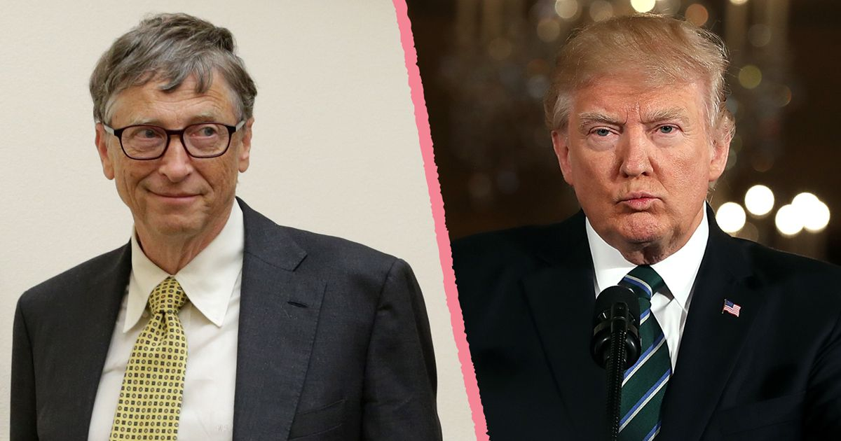"""Bill Gates takes his campaign against """"America First"""" directly to Donald  Trump today - Vox"""