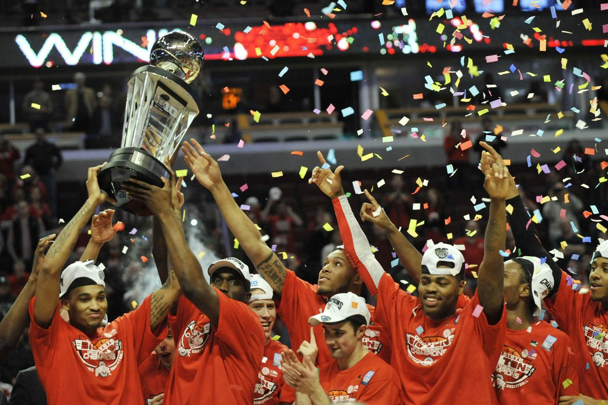 Buckeyes win Big10 title on their way to the tournament
