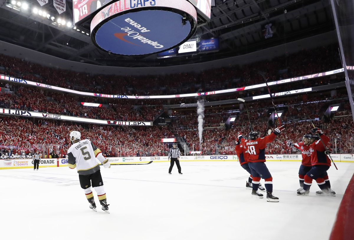 NHL: Stanley Cup Final-Vegas Golden Knights at Washington Capitals