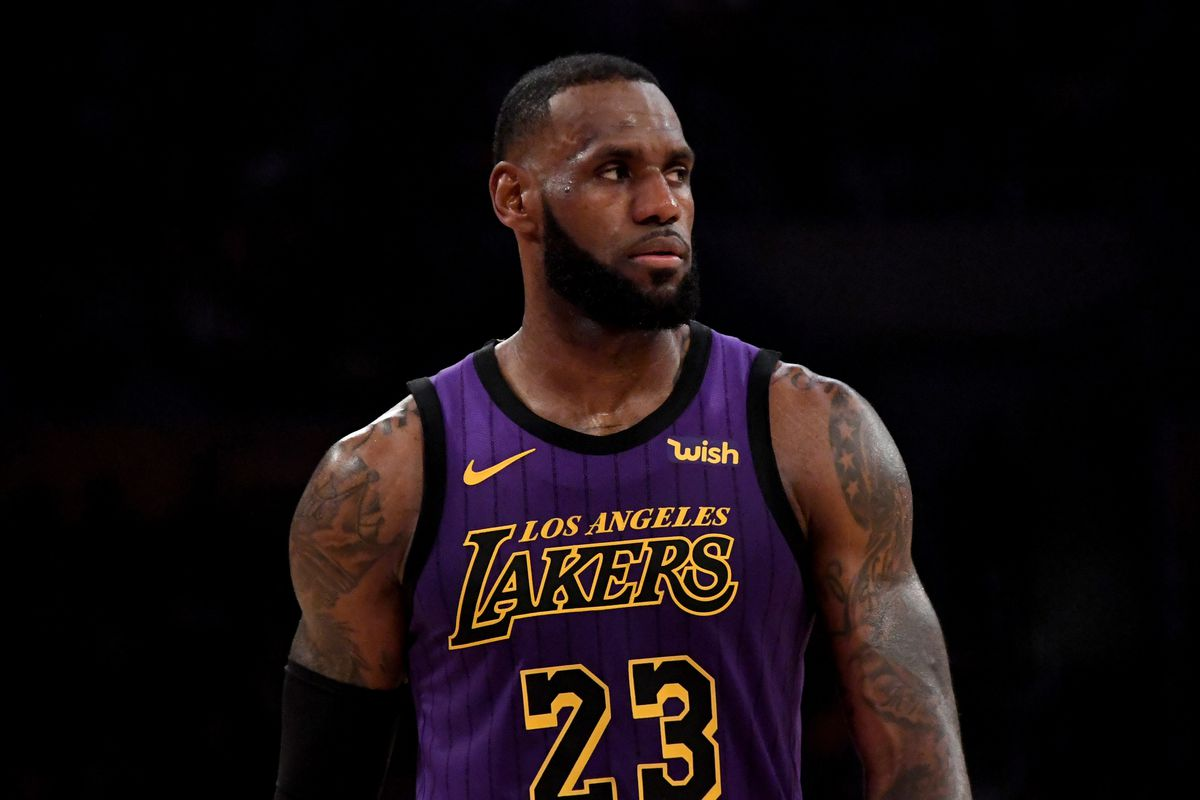 Image result for lebron james lakers usa today sports