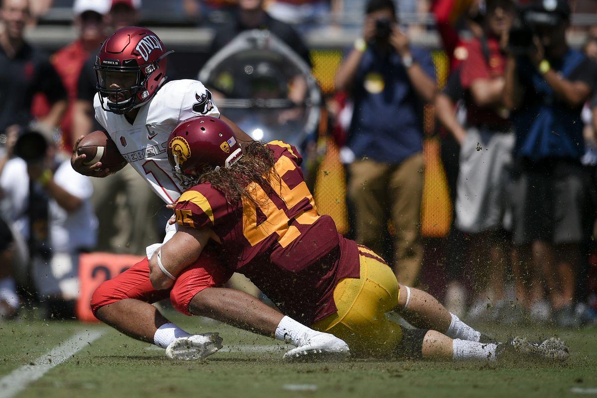 NCAA Football: UNLV at Southern California