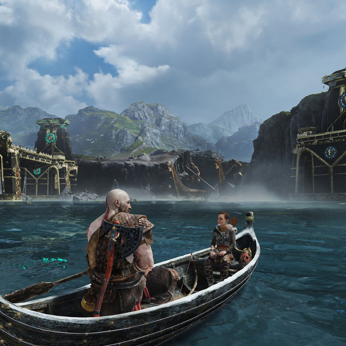 God Of War Ps4 Pro Comparison 4k Mode Disappoints Polygon
