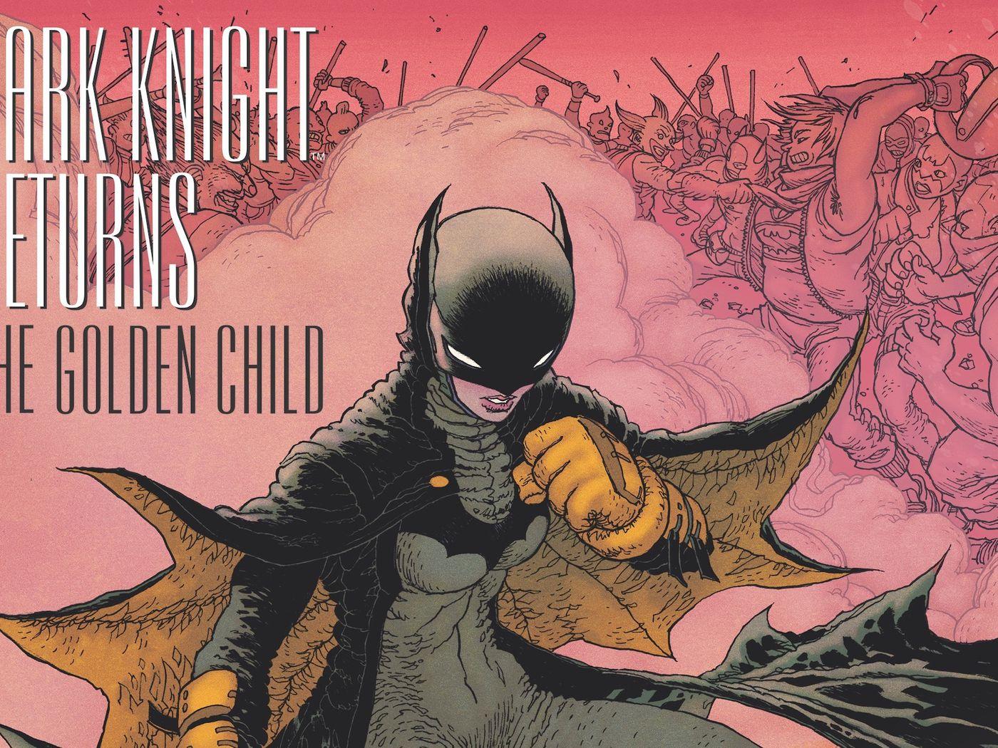 The Dark Knight Returns In Frank Miller S New Batman Story Golden Child Polygon