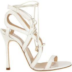 "<b>Chelsea Paris</b> Snakeskin Sosa Sandal, <a href=""http://www.barneys.com/on/demandware.store/Sites-BNY-Site/default/Product-Show?pid=503187376&cgid=womens-sandals-heels&index=38"">$249</a> at Barneys"